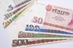 DDR-Geld-Scheine werden gern gesammelt.