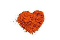 Eisenoxidpigmente haben oft einen roten Farbton.