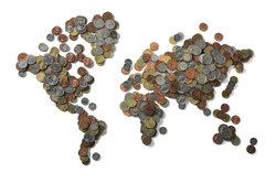 Das Weltsozialprodukt bildet die globale Wirtschaftsleistung ab.