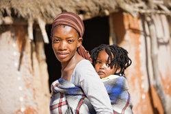 Das Geld half der Bekämpfung der Hungernot in Äthiopien.