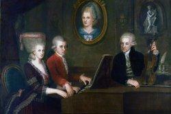 Mozart im Kreise der Familie