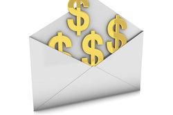 geld per post verschicken ausland