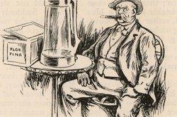 Otto von Bismarck war bekannt für reichlichen Alkoholgenuss.