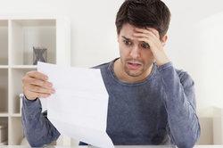 Bei Steuernachzahlung mit Kredit sind Kosten nicht absetzbar.