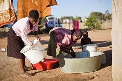 In Entwicklungsländern herrschen oft Armut und einfache Verhältnisse