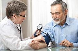 Blutdruck wird in mmHG gemessen