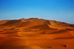 Unglaublich aber wahr - auch in der Sahara kam es zu Schneefällen.
