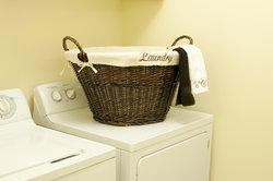 Ging alles gut, kann die Wäsche vom Trockner direkt in den Schrank.