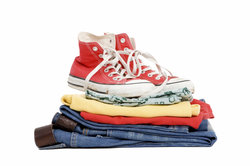 Textilschuhe lassen sich zwischendurch auch in der Maschine waschen.