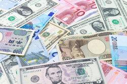 Verschiedene Währungen im Überblick