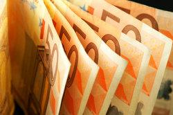 Ein 50-Euro-Schein wiegt weniger als ein Gramm.