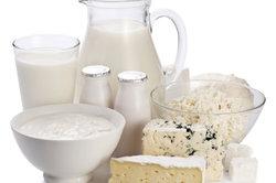 Milchhaltige Produkte stören einige Antibiotika.