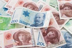 Norwegische Kronen - die Währung des Landes