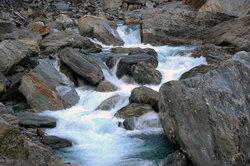 Die Alpen dienen etlichen Flüssen als Ursprung.
