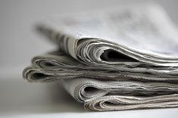 Zeitungsartikel beantworten die klassischen W-Fragen.