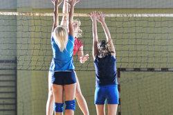 Auch beim Volleyball gibt es viele verschiedene Ligen.