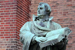 Martin Luther soll das Christkind erfunden haben.