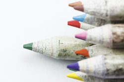 Buntstifte sollten frei von Schadstoffen und Weichmachern sein.