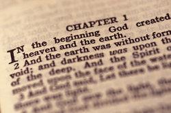 Wer die Bibel kennt, der kennt auch das 1. Buch Mose: Genesis.