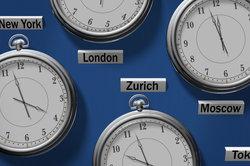 MEZ und GMT beziehen sich auf unterschiedliche Zeitzonen.