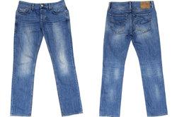 So gestalten Sie Jeans kreativ.
