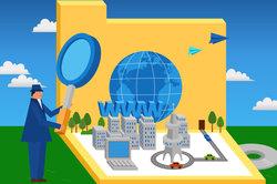 Durch die Globalisierung ist die Welt klein geworden.