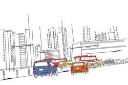 In den verschiedenen Ländern fahren die Autos entweder im Rechts- oder im Linksverkehr.