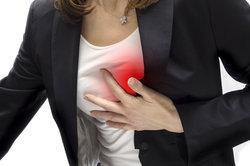 Schmerzen in der Brust als Symptom