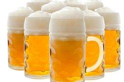 Bierschaumzerfall