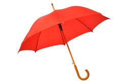 Die Umbrella Corporation hat einen Regenschirm als Logo.