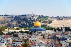 Der Tempelberg ist das religiöse Zentrums für den Islam in Jerusalem.