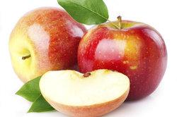 Der Verzehr einer normalen Menge Äpfel macht nicht dick.