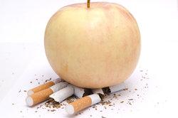 Zigaretten mit Apfelgeschmack werden hin und wieder angeboten.