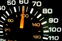 Geschwindigkeitsangabe in km/h