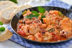 In Kroatien schmeckt leckerer Fischtopf.