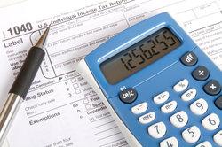Eine Steuererklärung ist viel Arbeit.