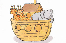 Die Arche Noah - eine von vielen biblischen Geschichten.