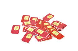 SIM-Karten sind durch PINs geschützt.