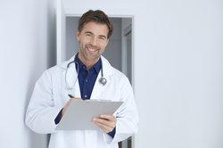 Ärzte haben einen angesehenen Beruf.