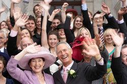 Die Steuerklärung nach der Hochzeit lohnt sich sehr für die Eheleute.