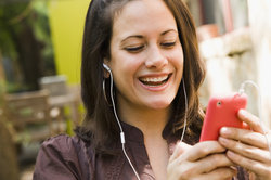 Ein MP3-Player ist leicht zu bedienen.