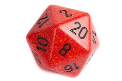 Auch im Dungeons-and-Dragons-Brettspiel braucht man Würfel.