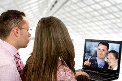 Per Skype kann man weltweit chatten!