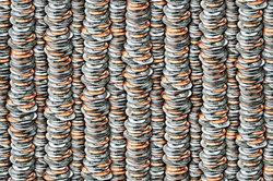 Nickel lässt sich in Münzen finden.