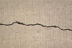Risse im Beton müssen vermieden werden.