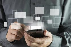 Smartphone-Kontakte können synchronisiert werden.