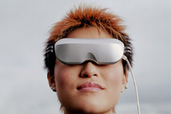 """""""Augmented Reality"""" ist eine Anwendung des holographischen Visiers."""
