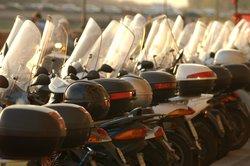 Die kleinen Motorroller sind zuverlässig, vor allem im Stadtverkehr.
