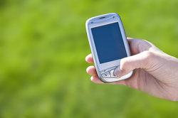 Ein Datenvolumen wird zum mobilen Surfen genutzt.