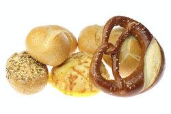 Kalorien und Nährwerte von Käselaugengebäck